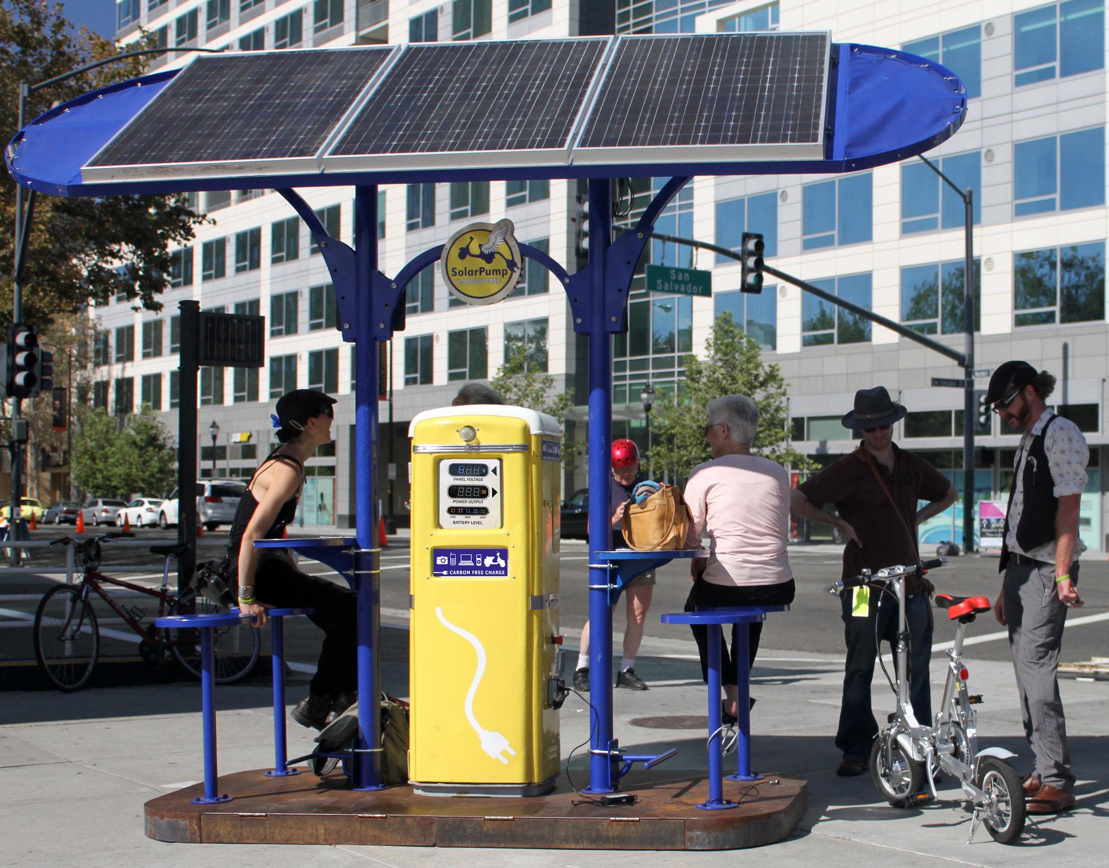 SolarPump Charging Stations