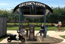 Electric Drive Solar Charging Station
